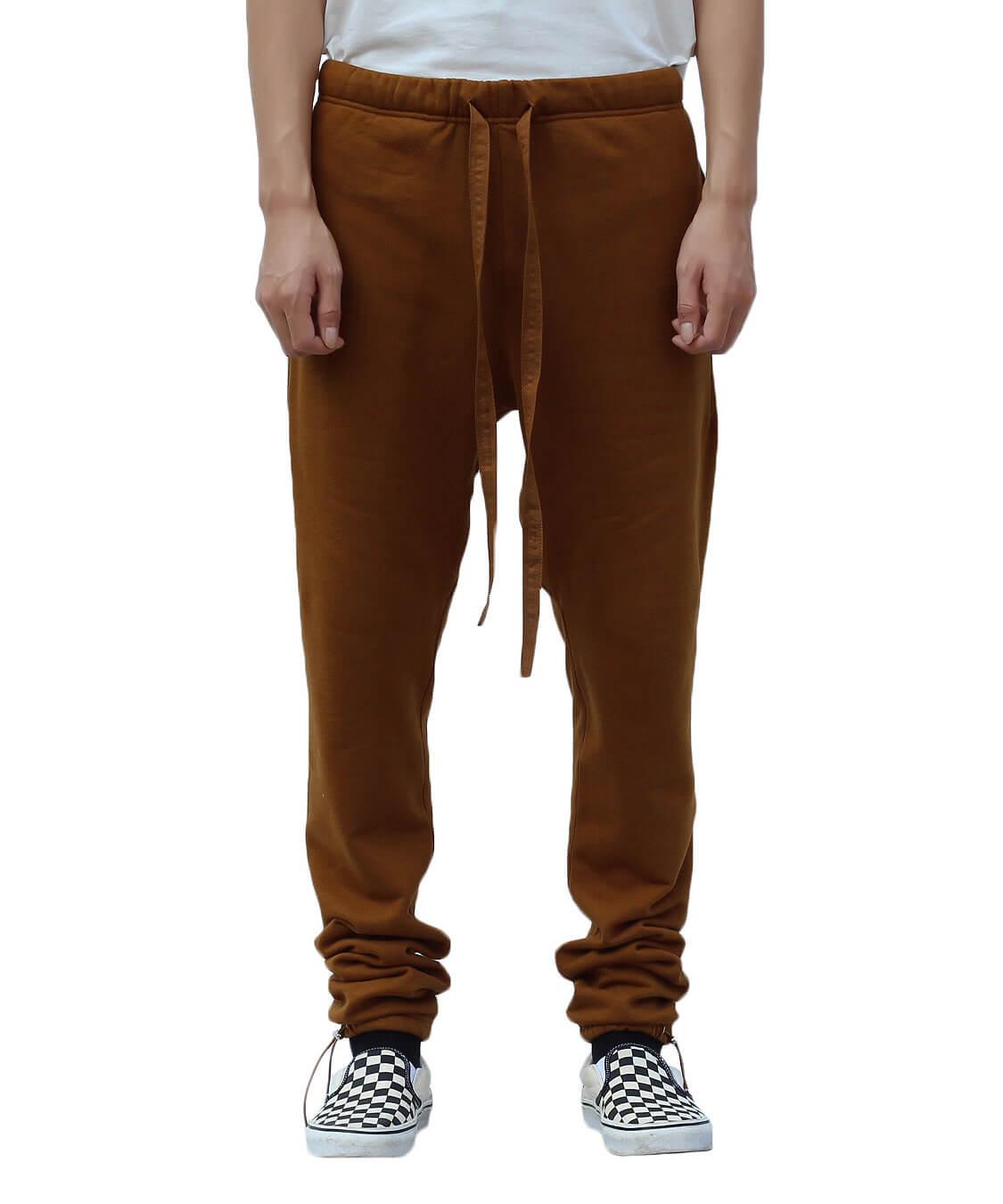 Essential Sweatpants - Brown