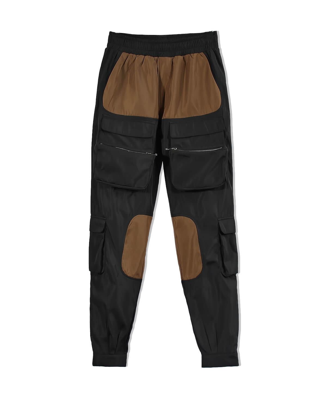 Cargo Pants V11 - Black/Brown