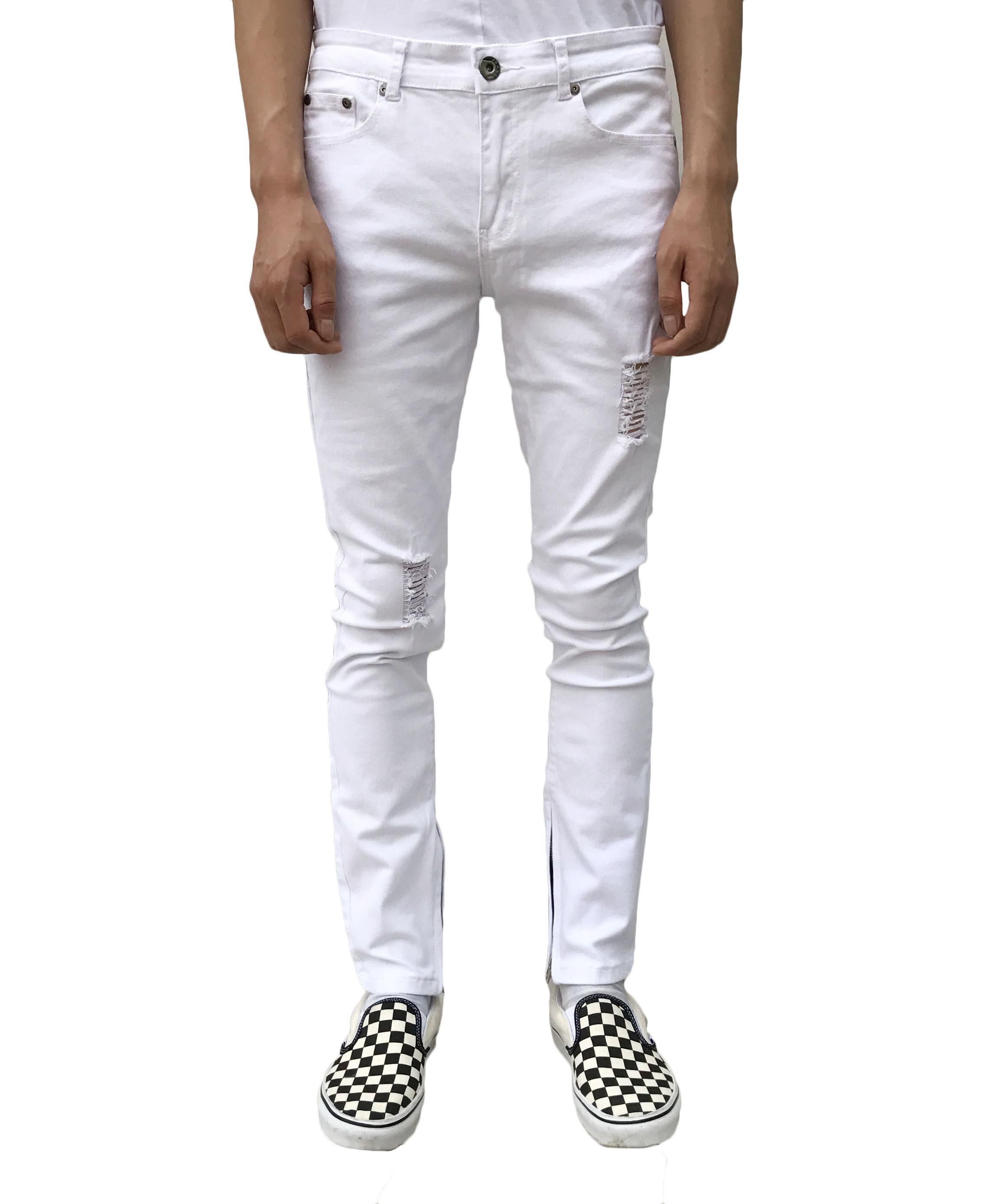 Basic Jeans - White