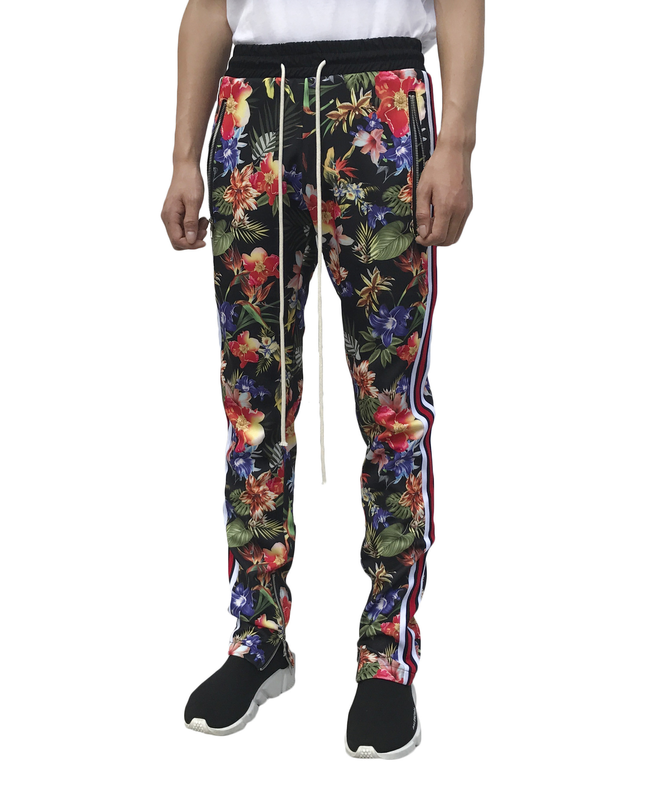 Floral Track Pant