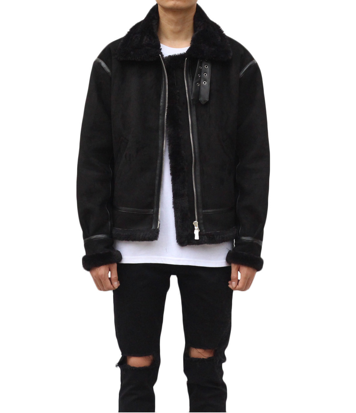 Shearling Jacket - Black