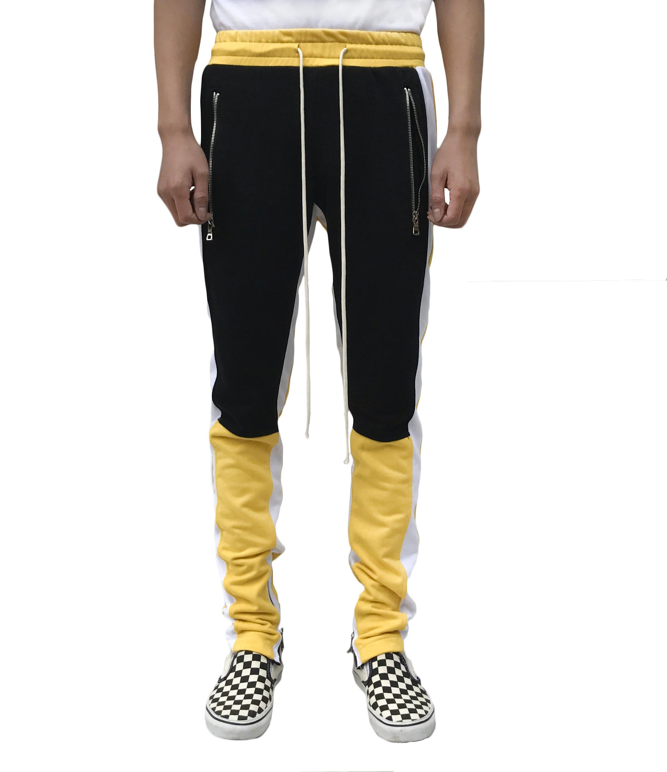 Motocross Track Pant -Yellow/Black
