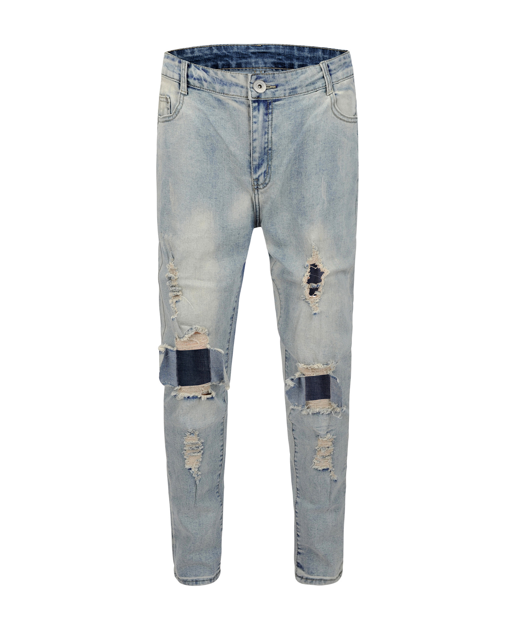 Destroyed Denim V3 - Blue