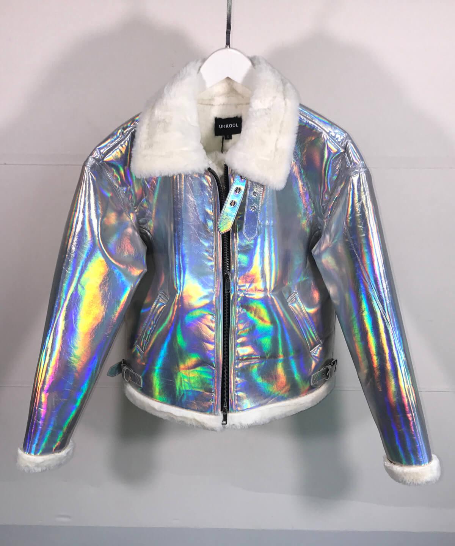 Shearling Jacket - Reflective