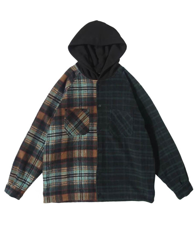 Hooded Flannel Jacket V2