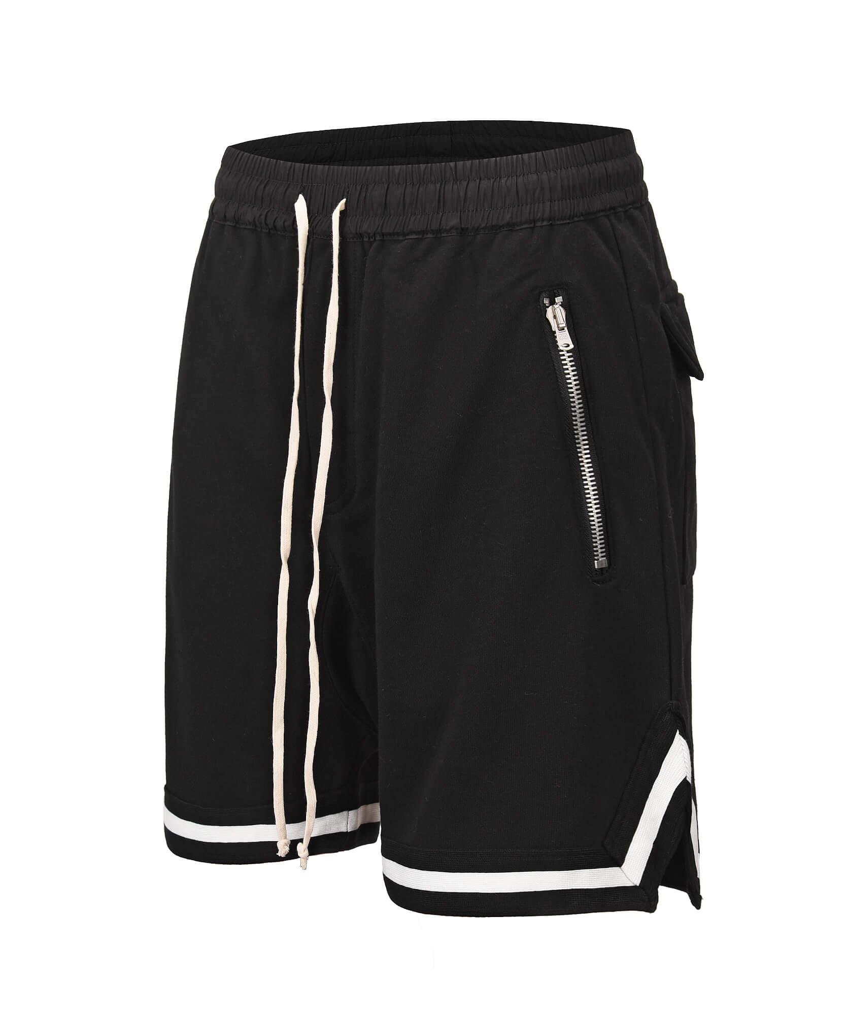 Drop Crotch Shorts V2- Black