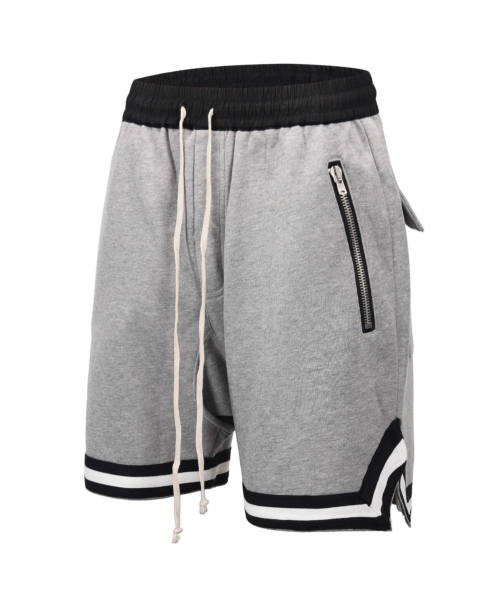 Drop Crotch Shorts V2 - Grey