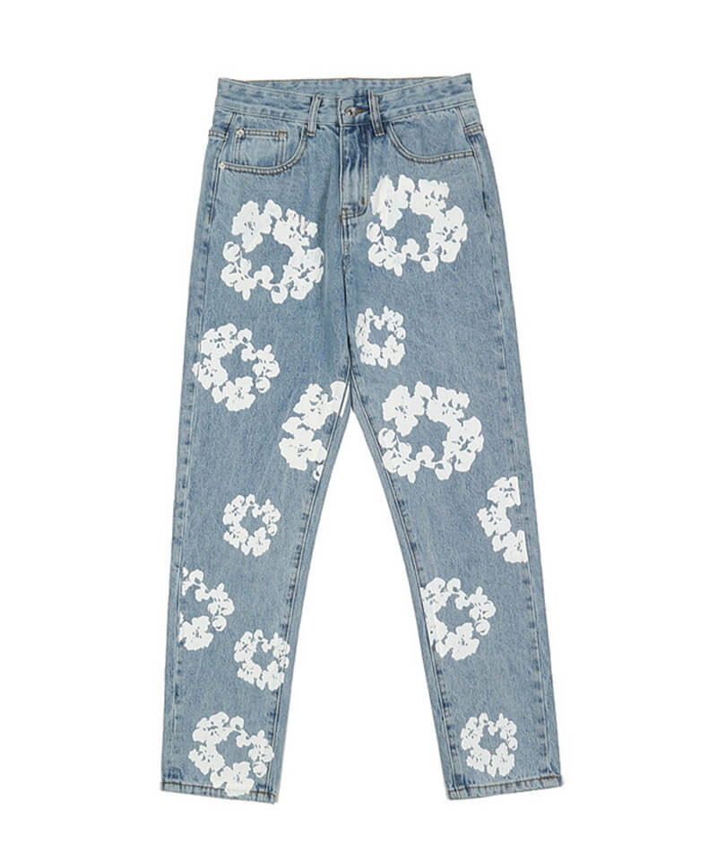 Floral Jeans V3