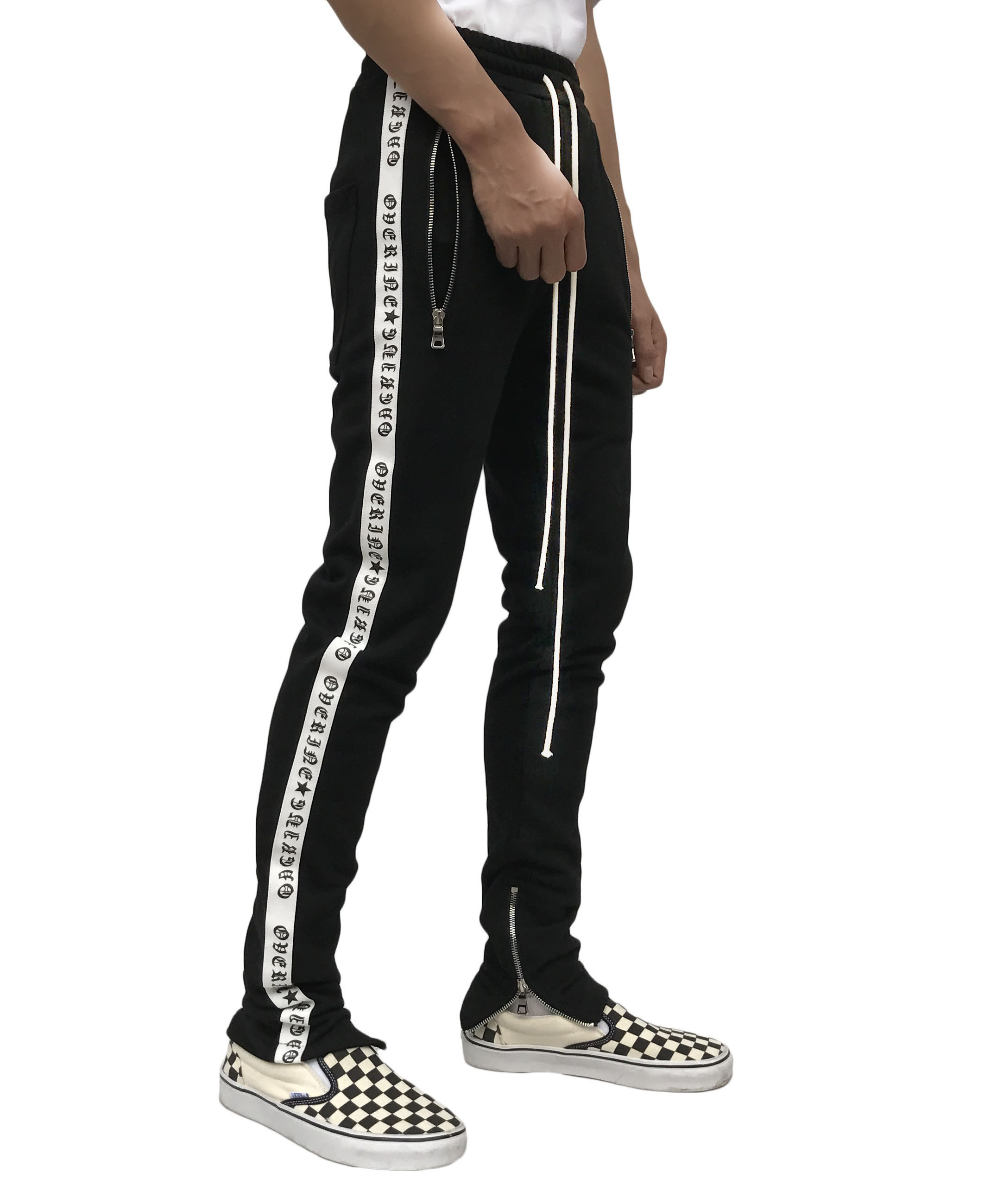 Lettering Taped Track Pant