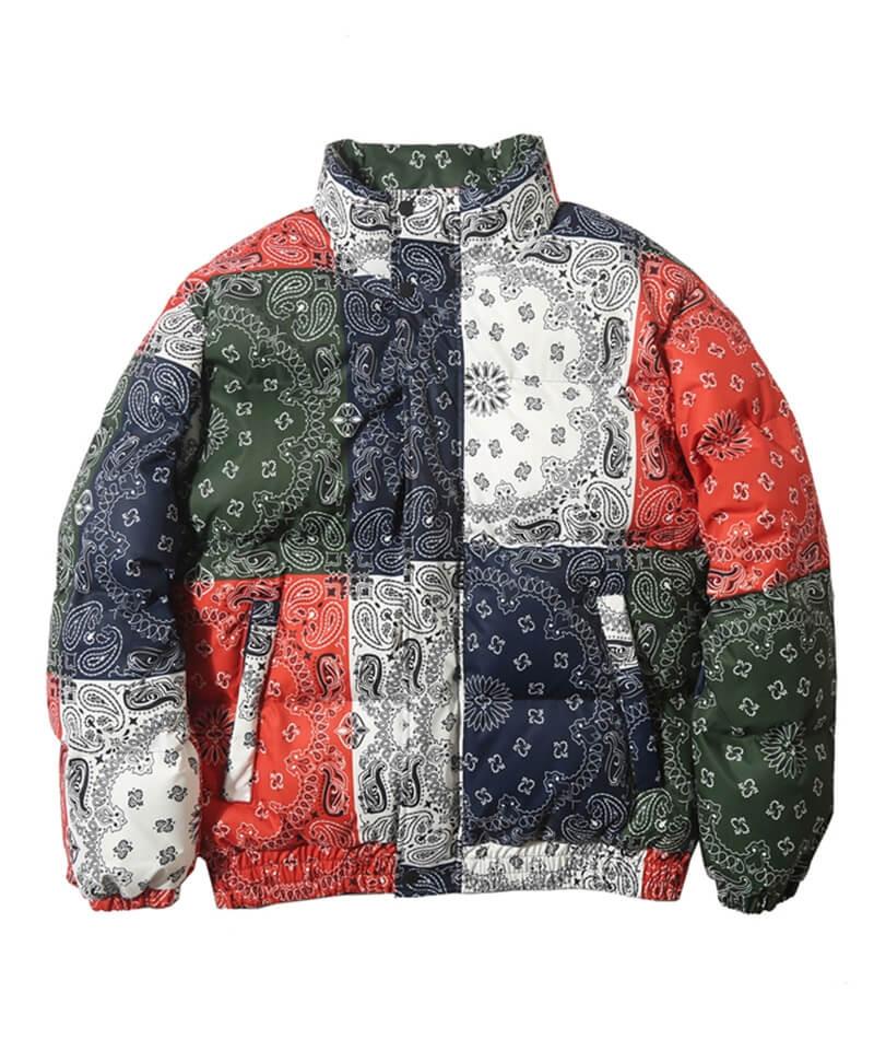 Padded Bandana Jacket - Colorful