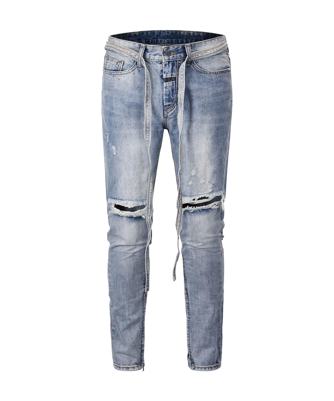 Standard Destroyed Jeans - Blue