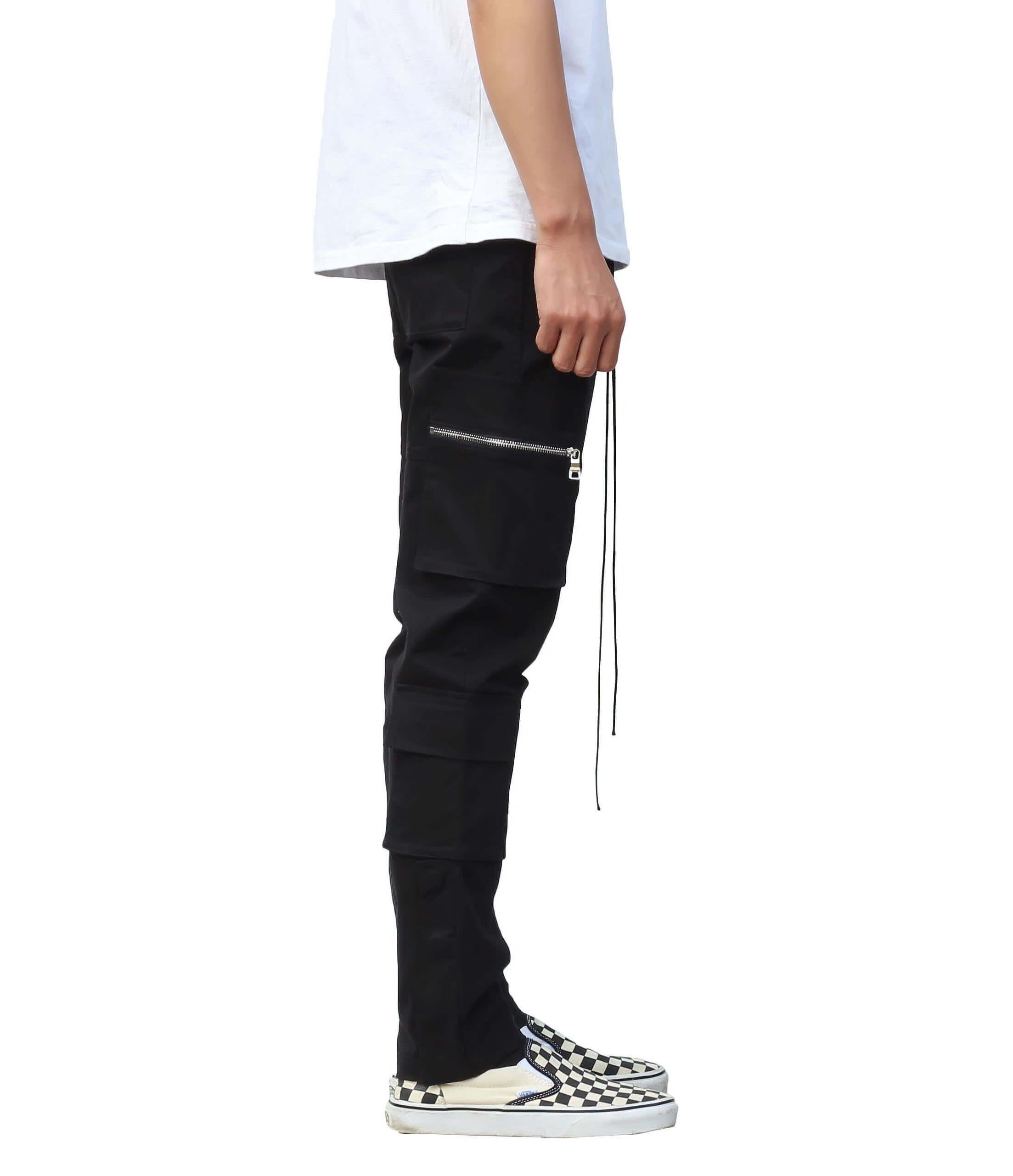 Cargo Pants V4 - Black