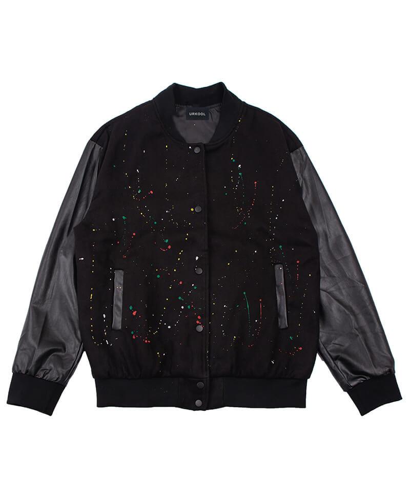 Painted Bomber Jacket