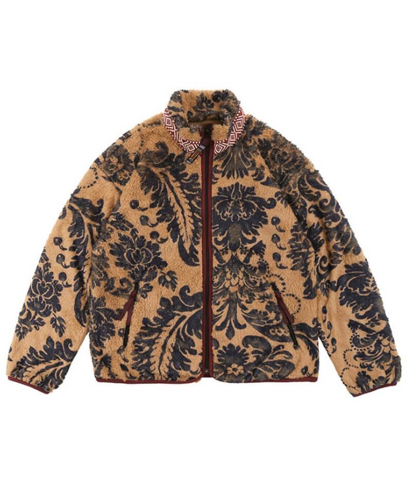 Floral Sherpa Jacket