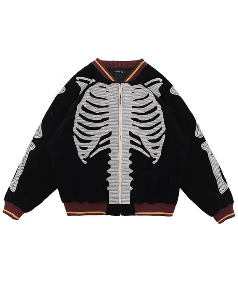 Embroidered Skeleton Jacket V2