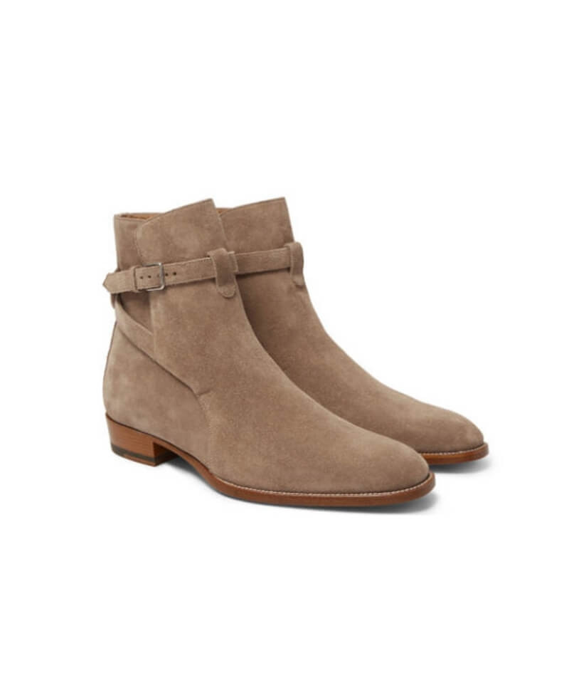 Chelsea Boots V3 - Grey Suede