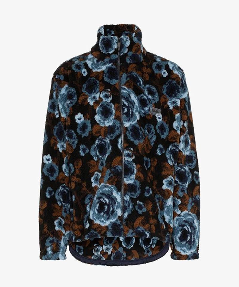 Blue Rose Sherpa Jacket